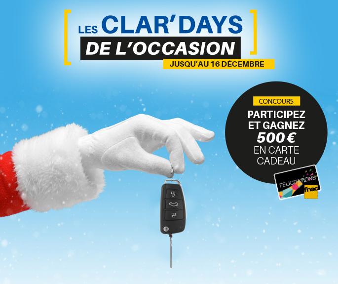 Les CLAR'DAYS, c'est maintenant !